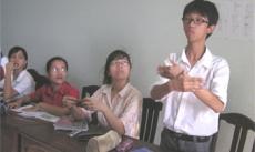 Lớp học không lời